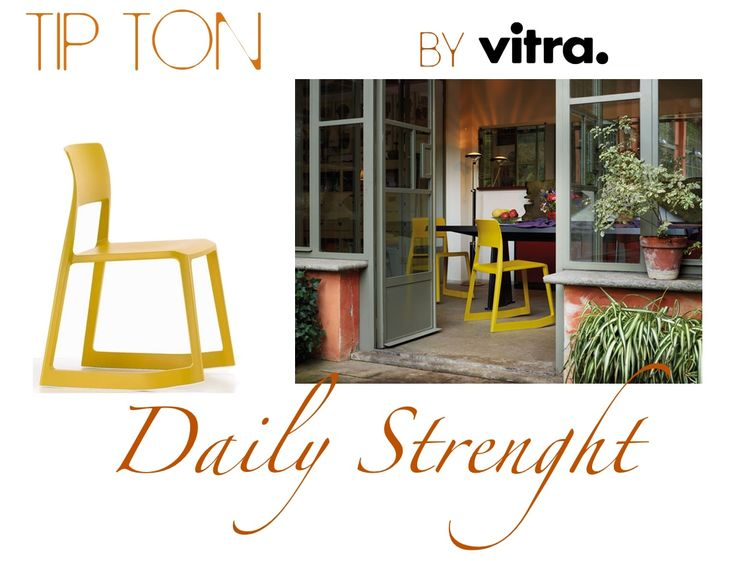 Tip Ton 04: solid plastic #chair with forward-tilt action that offers a dual sitting positions which straightens the pelvis and spine and thus improves circulation to the abdominal and back muscles. http://bit.ly/12jJOyw #InteriorDesign#Home#Ilovedesign#Furniture#MadeInItaly #training