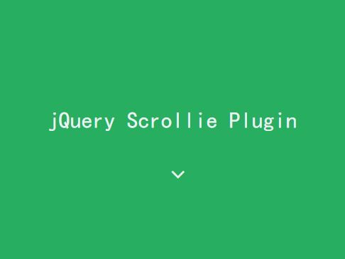 Scrollie is an easy and customizable jQuery scroll into view plugin which listens for scroll up and/or scroll down events and triggers callback functions as an element is scrolled into or out of view. #jquery