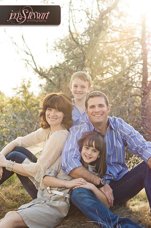 Engagement Session/Family Portrait- Blended family