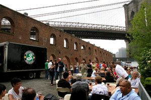 Free tours of Brooklyn Brewery on Saturdays
