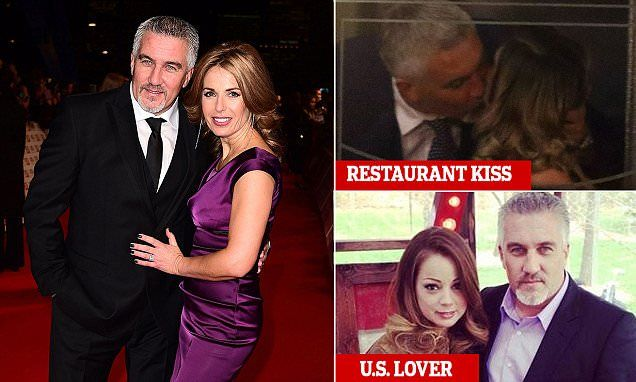 Paul Hollywood's wife 'struggled to forgive the star's infidelity'