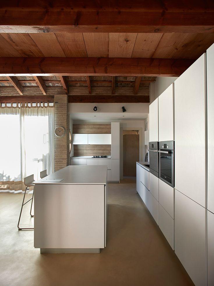 Microcement keukenvloer #microcement #keuken #betonlook