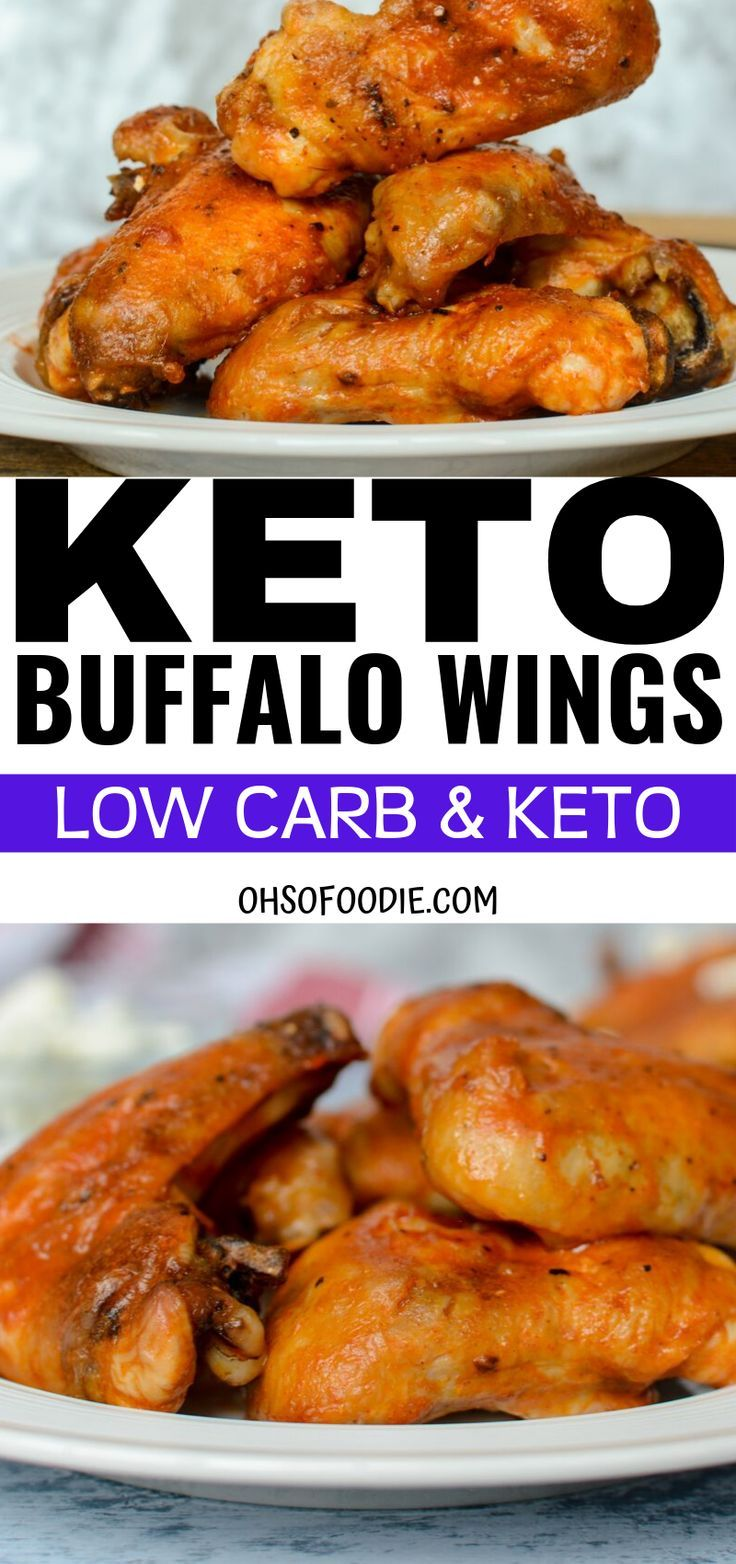 Keto Chicken Recipes Oven Baked In 2020 Keto Wings Recipe Low Carb Chicken Wings Wings Recipe Buffalo