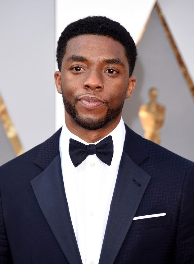 Chadwick Boseman | 23 Famous Guys Who Totally Owned The 2016 Oscars Red Carpet
