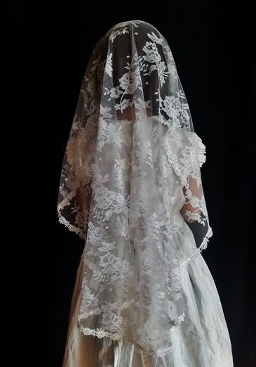Clare - Cascading First Holy Communion Veil - Veils by Lily For RB