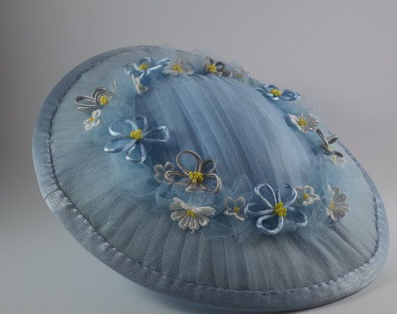 Beautiful blue saucer by MillinerybyMelissa on Etsy