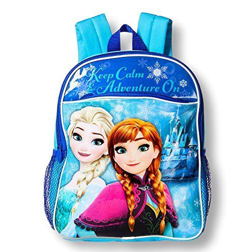Disney Toddler Preschool Backpack 10 inch Mini Backpack (Disney Frozen Adventure)