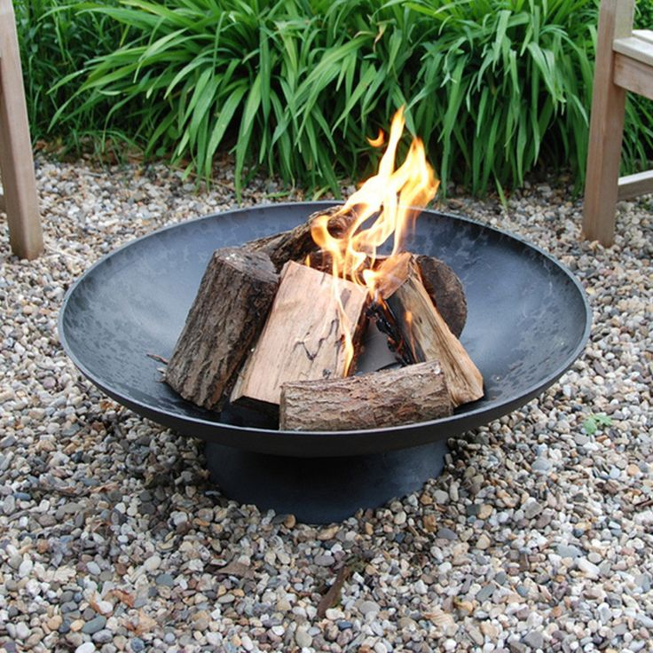 Cast Iron Fire Pit Brazier - Extra Large from The Farthing