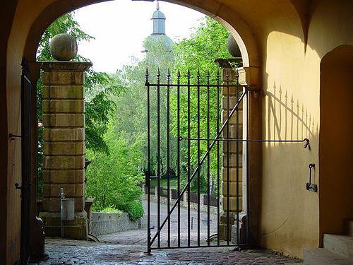 Gateway to a magical kingdom - Tor zu Schloss Friedrichstein  in Bad Wildungen - Germany