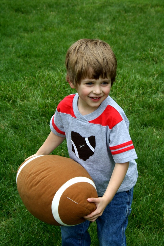 Ohio Football TShirt for TODDLERS Football style by twinzzshop, $24.50