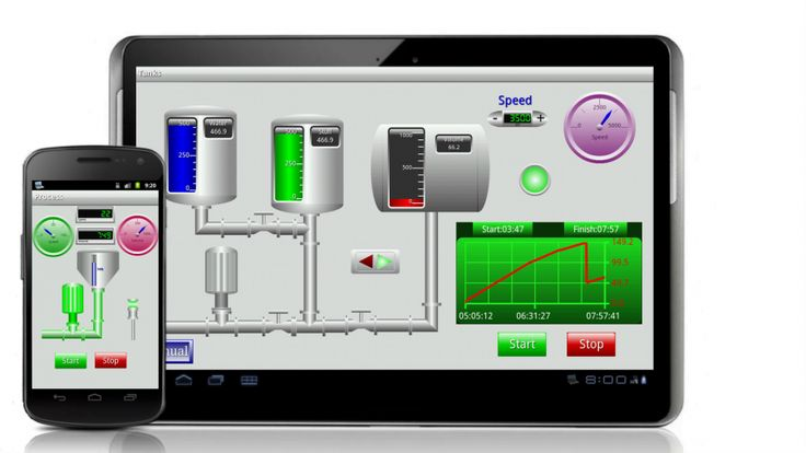 What are the differences between SCADA and DCS?         The DCS is usually used in factories and located within a more confined area. It uses a high-speed communications medium, such as local area network (LAN). A significant amount of closed loop control is present on the system. The SCADA system covers larger geographical areas. It may rely on a variety of communication links such as radio and telephone. Closed loop control is not a high priority in this system.