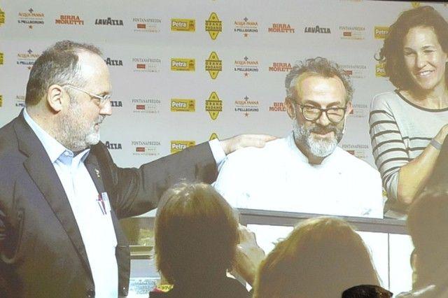 Massimo Bottura a Identità Golose 2015