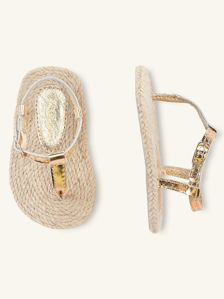 Bowman Thong - Shoes Layette Girl (Newborn–9M) - RalphLauren.com
