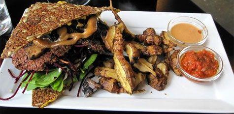 Glutenfri Raw Food Burger Opskrift