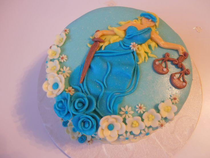 bohyně spravedlnosti, práva dort