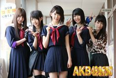Iriyama Anna, Kizaki Yuria, Miyawaki Sakura, Yokoyama Yui, & Kawaei Rina [Majisuka Gakuen 4]