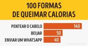 100 formas dequeimar calorias