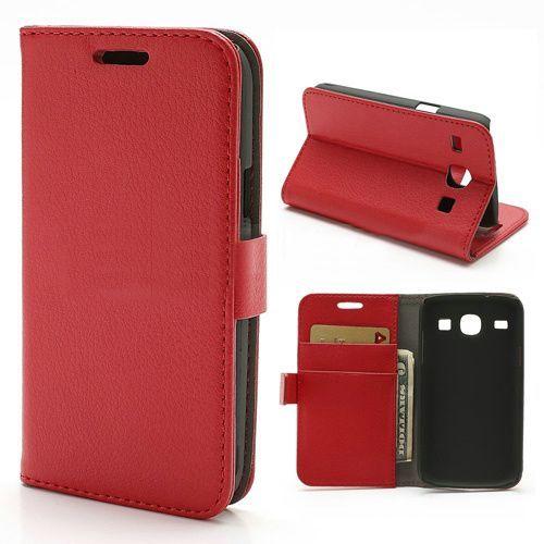 Bookcase hoesje rood Samsung Galaxy Core