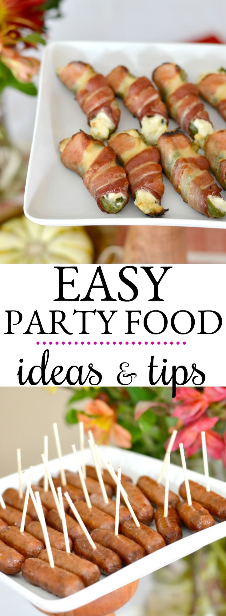 Tips for hosting a cocktail party with appetizers that are delicious and easy to prepare. #holidayparty #friendsgiving #partyfood #easyentertaining #cocktailparty #sponsored