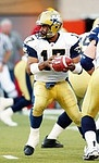 Khari Jones Winnipeg Blue Bombers quarterback 2003. Copyright photograph Scott…