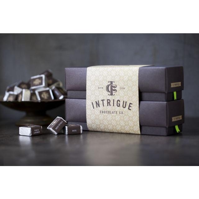 Twentyfour-piece Truffle Gift Box from Intrigue Chocolate Co.