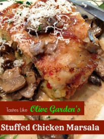 Olive Garden's Stuffed Chicken Marsala #Recipe • Mommy's MemorandumMommy's Memorandum | Mobile Version