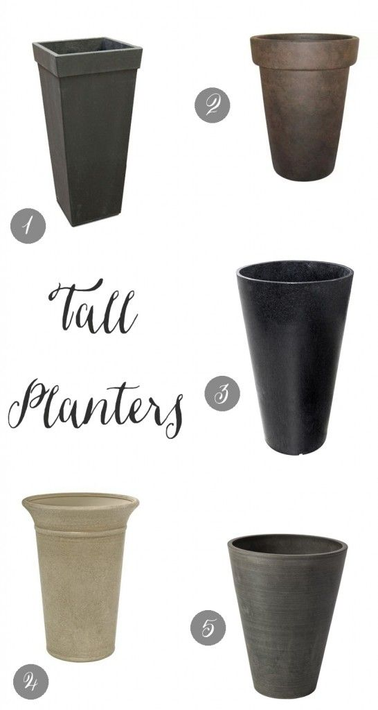 my favorite planters for under 50 from my blog pinterest. Black Bedroom Furniture Sets. Home Design Ideas