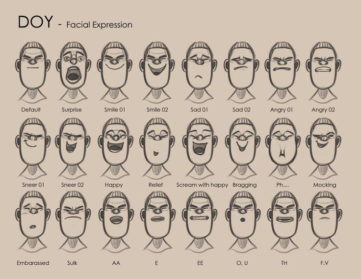 SKIMATION: HU & Doy Facial Expressions