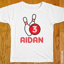 Bowling Pins Iron-On (Shirt or Onesie)
