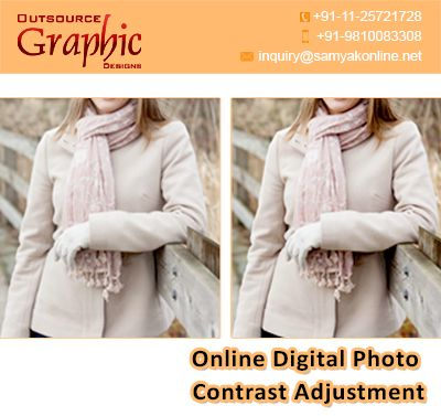 Online digital photo contrast adjustment services are the most effective ways to make the photo better and engage the viewer better. Outsource Graphic Designs is the right place for you. Get free advice from our experts.