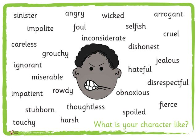 how to write good character descriptions