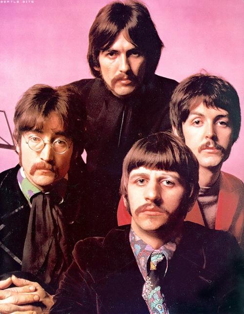 The Beatles. via eatlebits.tumblr.com