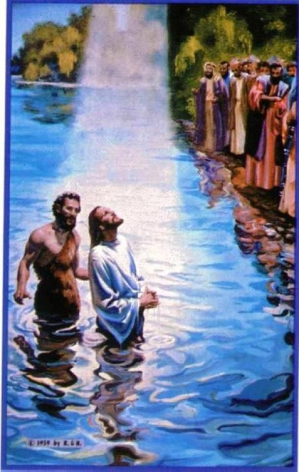 I did not know Him, but He sent me to baptize with water said to me, 'Upon whom you see the Spirit descending, and remaining on Him, this is He who baptizes with the Holy Spirit. John 1:33