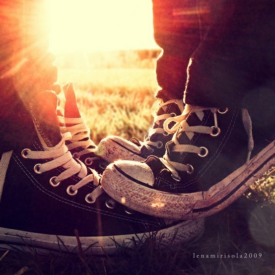 Standing on feet to reach for a kiss: Shoes, A Kiss, True Friends, Great Shots, Conver, Thomas Jefferson, Engagement Pics, Cool Pics, Sneakers