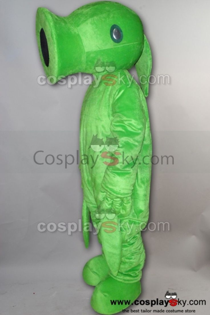 Pea Plantes Contre Zombies Mascotte Costume_2