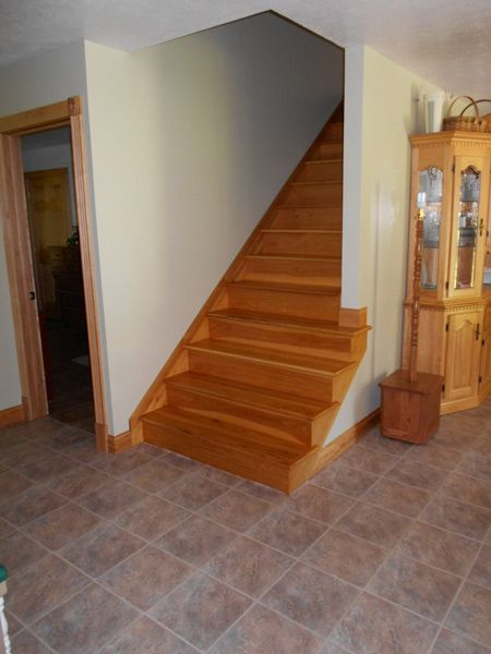 Hickory Stair Tread   All Of Our Stair Treads Are Made From Top Quality  Hardwoods.