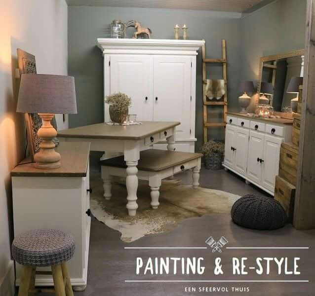 17 beste idee n over dressoir spiegel op pinterest witte dressoirs slaapkamer dressoirs en - Klassieke chique meubels ...