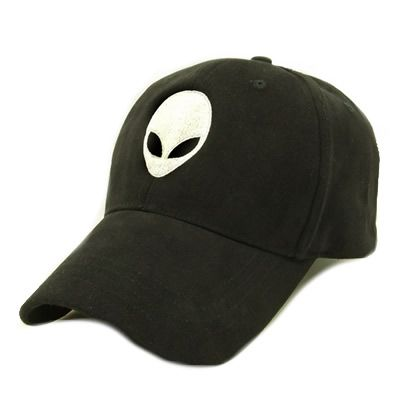 【 $5.28 & Free Shipping 】aliens Outstar saucer Space ET UFO fans black cotton fabric baseball cap hat   worth buying on AliExpress