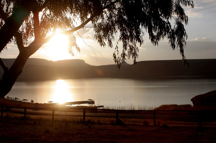 http://www.qwantani.co.za/ Qwantani resort is the Freestate, South Africa, view of the dam