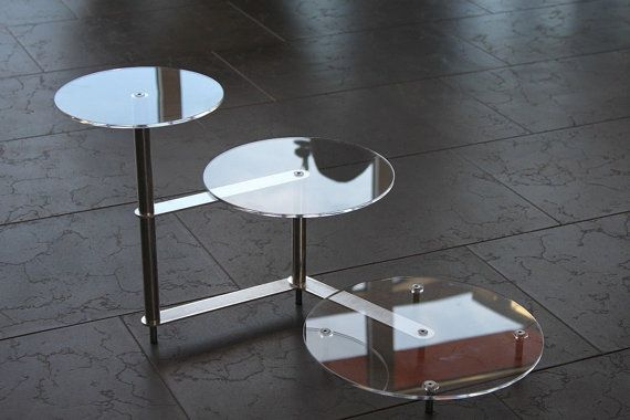 Tortenetagere cake stand acrylic stand by ManschinLaserdesign