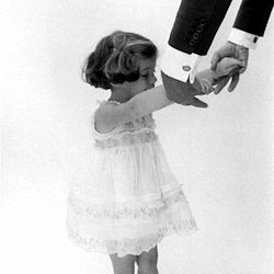 caroline kennedy and her father