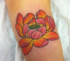 lotus flower tattoo pinterest