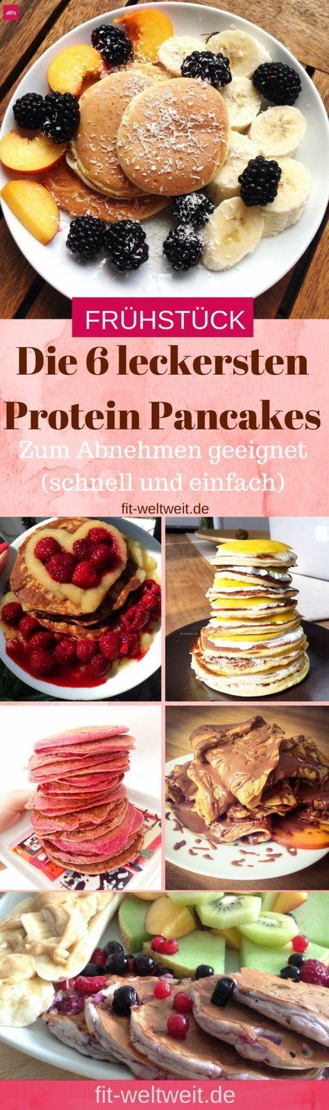 PANCAKE REZEPTE (no Carb und low Carb). Mit diesen leckeren Protein Pancakes. Sie sind das perfekte Fitness Food für nach dem Sport und eignen sich auch perfekt zum Abnehmen (HCG 21 Tage Stoffwechselkur, Weight Watchers). Die leckersten Protein Pancakes Rezepte zum Abnehmen (schnell und einfach) hohen Eiweißanteil und enthalten wenig bis garkein Fett. 6 leckere, einfache und schnelle Rezepte für Protein Pancakes rausgesucht.