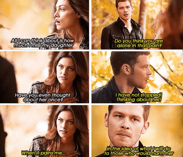I know this is from the Originals but I do t have a board for that so I'm putting this on my TVD board. Self note: watch the Originals