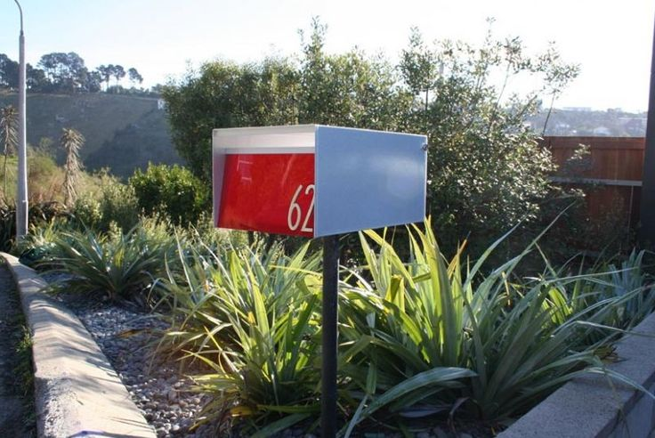 FREE SHIPPING!   Finding a modern mailbox to suit your home, apartment or property development is a challenge but at last there are mailboxes that match contemporary architecture!  The letterboxes can be stacked up into large banks, their vibrant, chunky colours becoming a design feature in i...