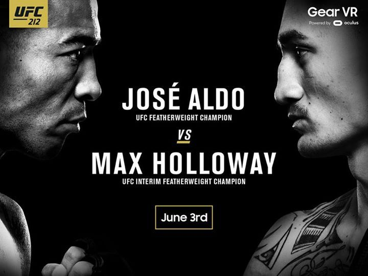 Experience #UFC212 unframed on June 3. Watch live and exclusive content on the #GearVR.  https://samsungvr.com/portal/vrlivepass
