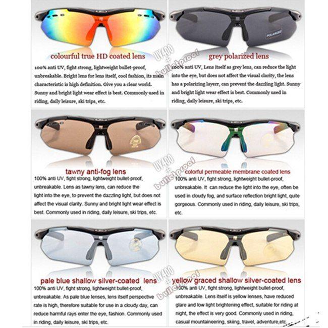 Polarized Polaroid Bike Bicycle Cycling UV Sunglasses Sun Glasses