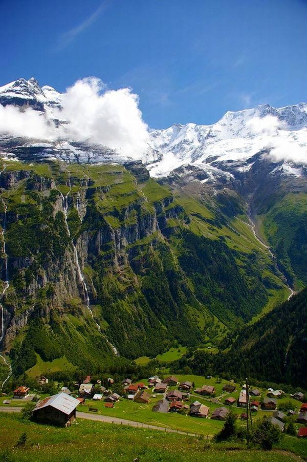 Gimmelwald Village, Switzerland