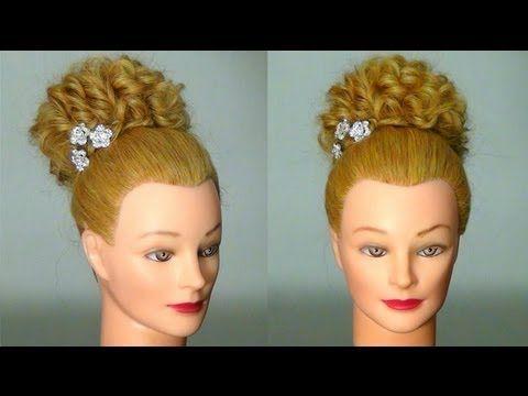 Легкая прическа на длинные волосы. Easy hairstyle for long hair