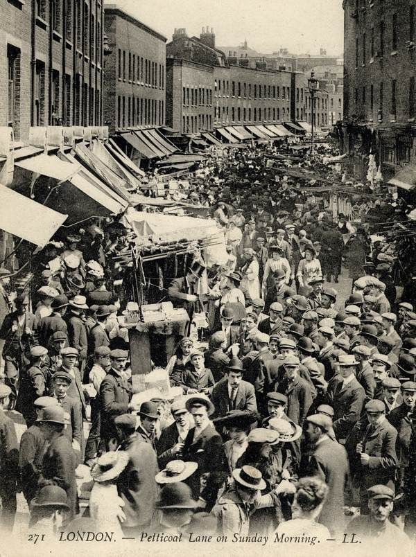 Petticoat Lane on a Sunday morning